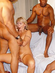 Gangbang Squad gets some MILF action.