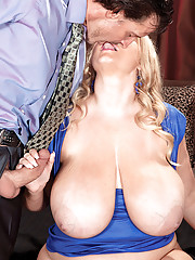 Huge Tits Kissing
