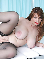 Huge natural tits british mature