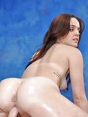Massage therapist Emme gives a little more than a sensual massage
