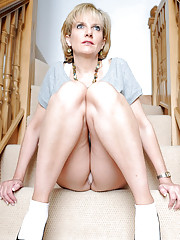 Bobby socks and high heels mature