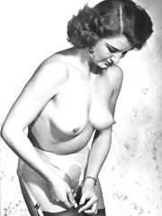 Pretty naked professional models in eighties