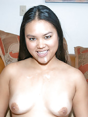 Cute asian hottie gets down and dirty in this hot interview