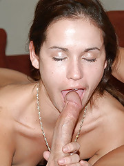 Sweet brunette gets her first chance at a porn shoot