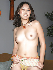 Sexy first timer takes her first facial here in these pics