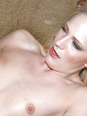Hot first timer catches a nice facial here in her interview