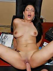 Smoking hot pants latina fucked inside a hot rod car shoppe hot reality fucking cufaced sex