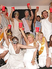 Amazing college toga party turned to group sex real hot amatuer sex party