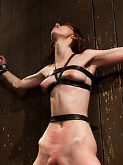 20yr gets her first Kink shoot after being a fan for years. Orlando brings the pain you expect from Device Bondage. He even makes her cum, how nice..