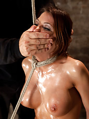 One of Vanilla Porns Hottest Bodies steps into the dark brutal world of BDSM.  She is scared, nervous, & apprehensive.  Lets see how she handles it..