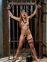 Wealthy and privileged finds herself in the wrong place at the wrong time and suffers to electrosex and BDSM by the hands of crooked cop, Bobbi Starr.