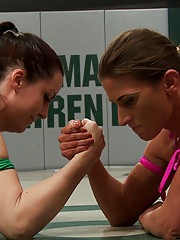 Feisty tough girl rookie gets a lesson in humility. The champ is back & she wants every single wrestler to know it. No More Miss Nice Girl EVER AGAIN!