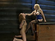 Cox has proven that she can take cock, and even take it anally, but being violated by Aiden is another test all it