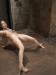 Remy LaCroix reeks of innocence. However when the ropes go on, she transforms into a submissive whore! Face fucking, pussy torture and brutal orgasms.