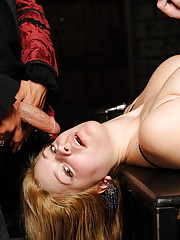 Danielle tied and punished