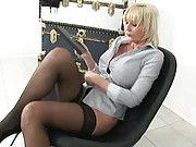 British mature secretary jan burton