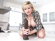 Hot mature gives wank instructions