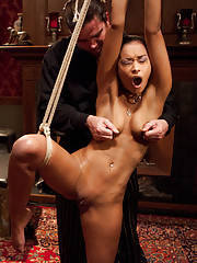 Ash and the Pope reach a new level of intensity as she has uncontrollable orgasms and screams for mercy under his crop.