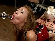 Big Cock for little Asian Girl in her Ass and Dominated!