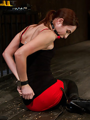 "Part 1 of 4 of the Live February Shoot ""Breaking Amber Rayne"""