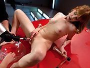 Pussy Carnival! Annie Cruz trains a hot new rookie in pussy squirting by shooting distance & soaking our cum shields with loads of girly juice