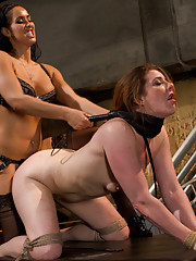 Isis Love takes CiCi Rhodes on a ride through intense pain and excruciating pleasure.