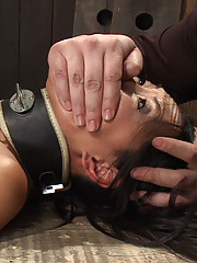 Isis uses Tia as her personal fuck doll. Face sitting, humongous dildo ass fucking, dual handed 8-fingered fucking. Tia cums as hard as she