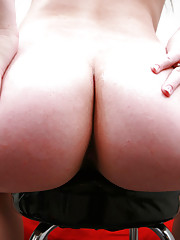 19 year old Kiara Marie couldn't wait to shake her booty for us.