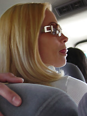We picked up this sexy big breasted blonde MILF and gave her the deluxe MILFseeker tour of town.
