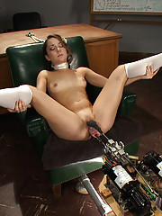 The machines unleash on the hot new amateur girl