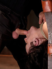 Hot girl next door with daddy issues, has all 3 holes abused. Brutal foot caning, devastating orgasms & a horrific throat fucking, she took it all.