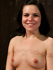 Juliette is double penetrated, made to squirt into exhaustion. Her nipples, pussy withstand 10+ lbs of stress. She earns orgasms thru sweat and agony.
