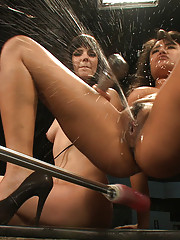 Squirting, huge cocks, fast machines, ass pounding, girl/girl domination by the biggest names - Annie Cruz, Bobbi Star, Lorelei Lee & Kristina Ro