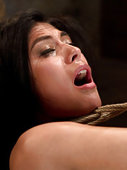 1st at Kink, first time in bondage. What would bring such a sexy 23yr to a hardcore bondage site? Let