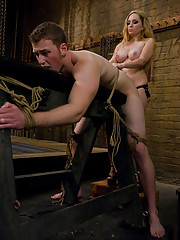 Aiden Starr beats the shit out of Muscle Boy