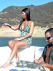 Smoking hot fucking little tight ass asian gets drilled hard on the open waters in these hot boat bikini fucking cumfaced reality porn pics