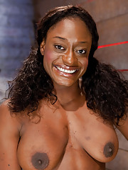 Beautiful ebony Ashley Star fights against her bondage and Matt in this explosive scene of aggressive Domination, suction, clit bondage, and orgasms.