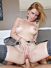 Super hot thin milf power fucked hard after getting picked up at the super market hot cumfaced pics