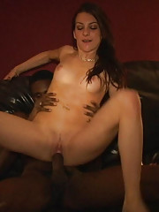 This week see bachelor student Jordan let loose and go for the biggest black dick she can find.