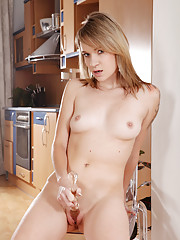Angel Piaff pumps her sweet Czech pussy in this Euro porn gallery to show off the sweet shaved labia that have made her famous. She gets loud as fuck during this amazing sex session and the gallery le...
