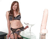 Redhead british nylons milf holly