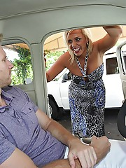 Super hot big tits hot ass milf fucked hard behind the used car lot hot real pics