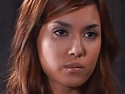 Maria Ozawa Asian in black stockings loves to take control on man