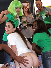 Chk out these hot college teens fucking in a irish italian sex party