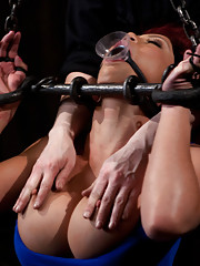 Mia is bound, caned, chained and fucked til she cums. Pain and pleasure combined nearly push her over the edge. Hot scenes of uniquely kinky torment!!