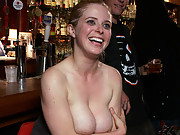 Penny Pax gets tied tightly and humiliated in public. Fisting, squirting, ass fucking, and bondage, all in public!!!