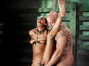 Lyla is brutally tortured and sadistically fucked to test her sexual ability.