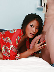 Christina, a Vietnamese beauty who is sexually deprived from a good fuck.
