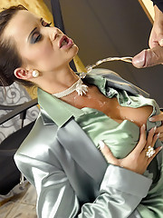 The boss enjoys banging his horny secretary