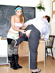 Student banging her horny teacher for credit